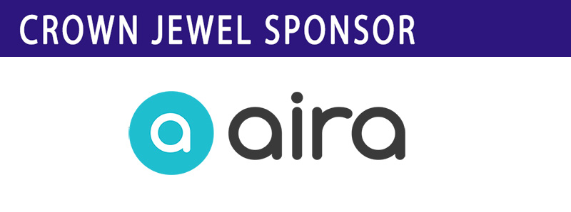 Crown Jewel Sponsor Aira logo